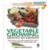 veg growing month by month